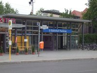 Entrance to U-Bahn station Pankow