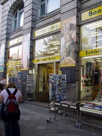 "Bookstore ""Berlin Story"" on Unter den Linden"