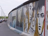 The Berlin Wall - part of the East Side Gallery