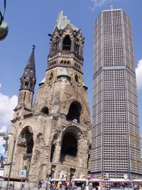 The Kaiser Wilhelm Memorial Church in 2006