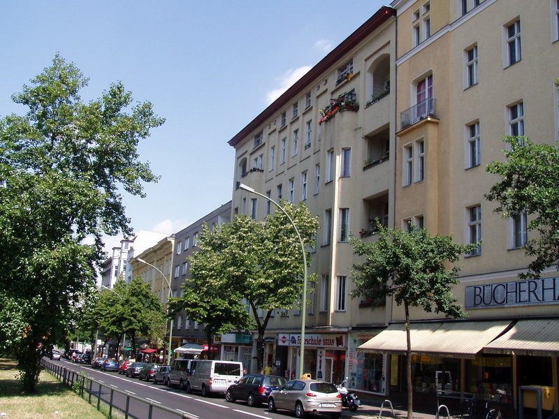 David Bowie's former Berlin residence at Hauptstrasse 155