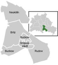 Neighbourhoods in Neuk�lln, Berlin