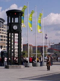 Potsdamer Platz traffic light
