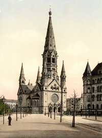 Kaiser Wilhelm Memorial Church around 1900