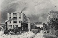 Original Potsdamer Bahnhof in 1843