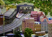 LOXX model railway exhibition Berlin: Zoo Station