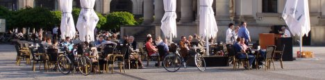 Dining al-fresco on Berlin's Gendarmenmarkt