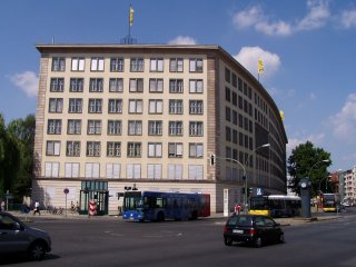 The BVG headquarters at Kleistpark