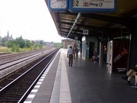 Innsbrucker Platz S-Bahn station (Ring line) in Berlin