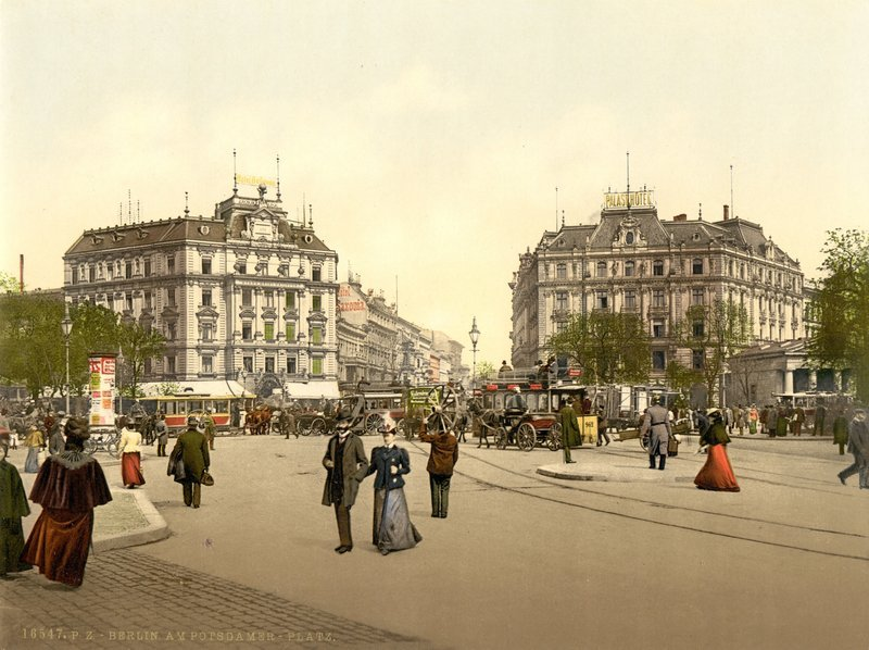 Potsdamer Platz around 1900